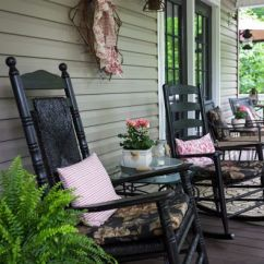 Affordable Rocking Chairs Hanging Nest Chair Outdoor 7 Reasons We Love This Delightful Country Porch | Chairs, Spray Painting And