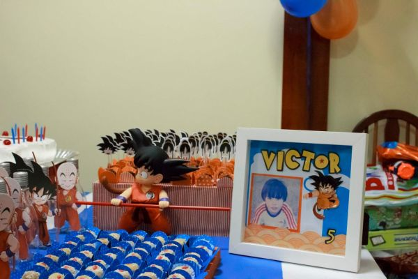 Dragon Ball Z Birthday Party Decorations