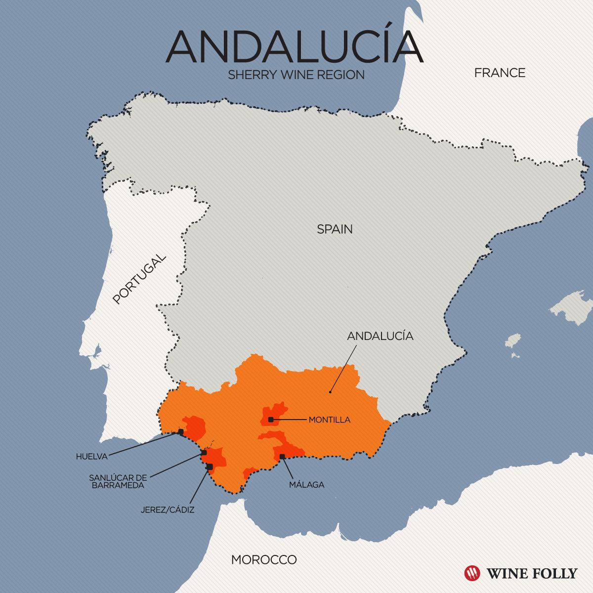 Spain Region Andalusian