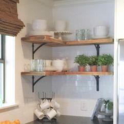 Kitchen Cabinet Corner Shelf Islands On Wheels Shanty Sisters Instagram Simple Shelves We