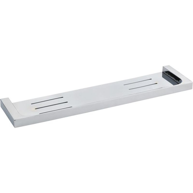 find mondella 445 x 110mm chrome rumba bathroom shelf at bunnings