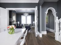gray walls with white trim | Interior Design ...