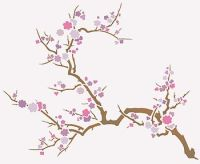 japanese cherry blossom tree stencil - Bing Images ...