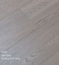 Furlong Majestic Light Grey Stained Engineered Wood ...
