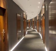 Corridor | Hotel Carrs Marineda, A Corua, Galicia ...