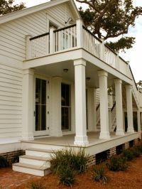Pillar shape Porch Balcony Design, Pictures, Remodel ...