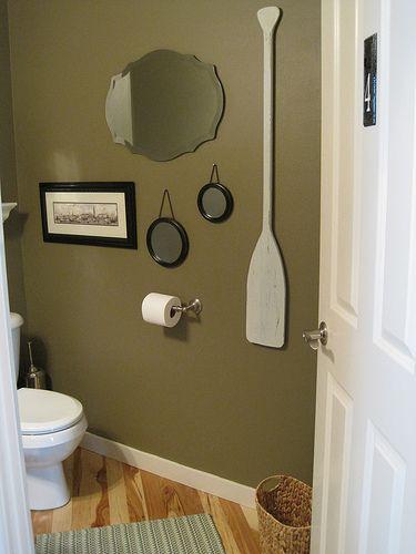 martha stewart bathroom paint color ideas Bathroom paint color: tobacco leaf - Martha Stewart. Like that oar! I think the room is a bit