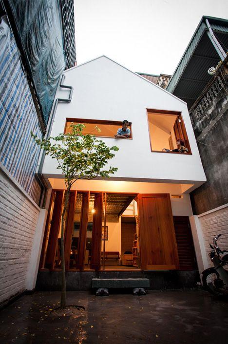 Hanoi Townhouse By Adrei Studio Architecture Structures