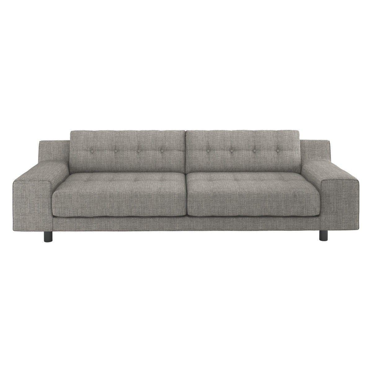 ashley manor harriet sofa in mink jogo de usado mercado livre 4 seater sofas fabric contemporary