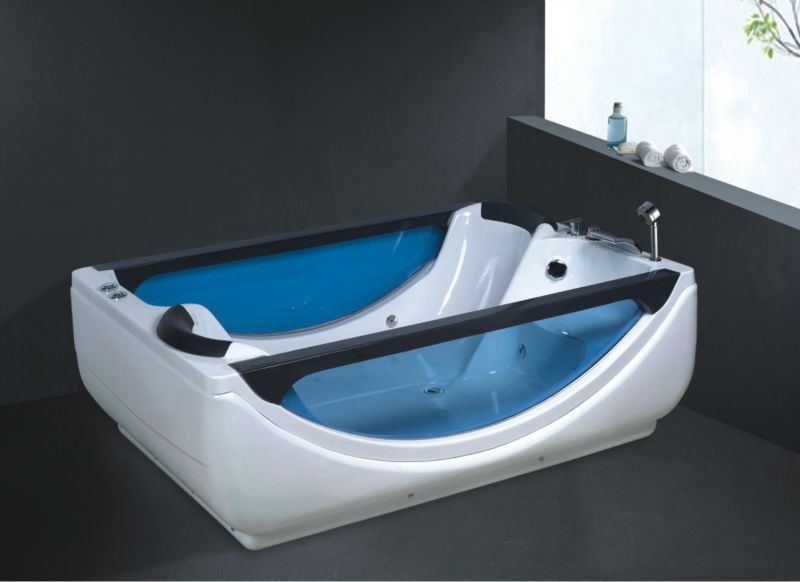 Two Person Freestanding Bathtubdouble Bathtubadult Portable Bathtub NoB268 Whirlpool Bath Tub