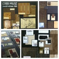 Interior Design presentation boards for commercial ...