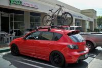 mazda 3 mps with roof rack