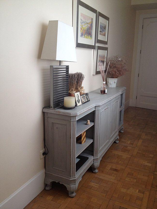 mueble pintado provenzal  dommuss  Pinterest  Living