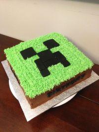 Minecraft Creeper Cake | Kids party ideas/food | Pinterest ...