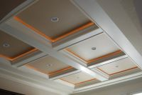 DIY: Coffered Ceiling Project | Coffer, Ceiling and Ceilings