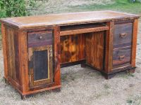 rustic office desks - Google Search | Furniture ...