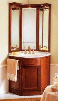 corner vanities for small bathrooms
