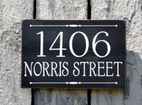 Custom House Numbers Outdoor Address Number Plaque Welcome ...