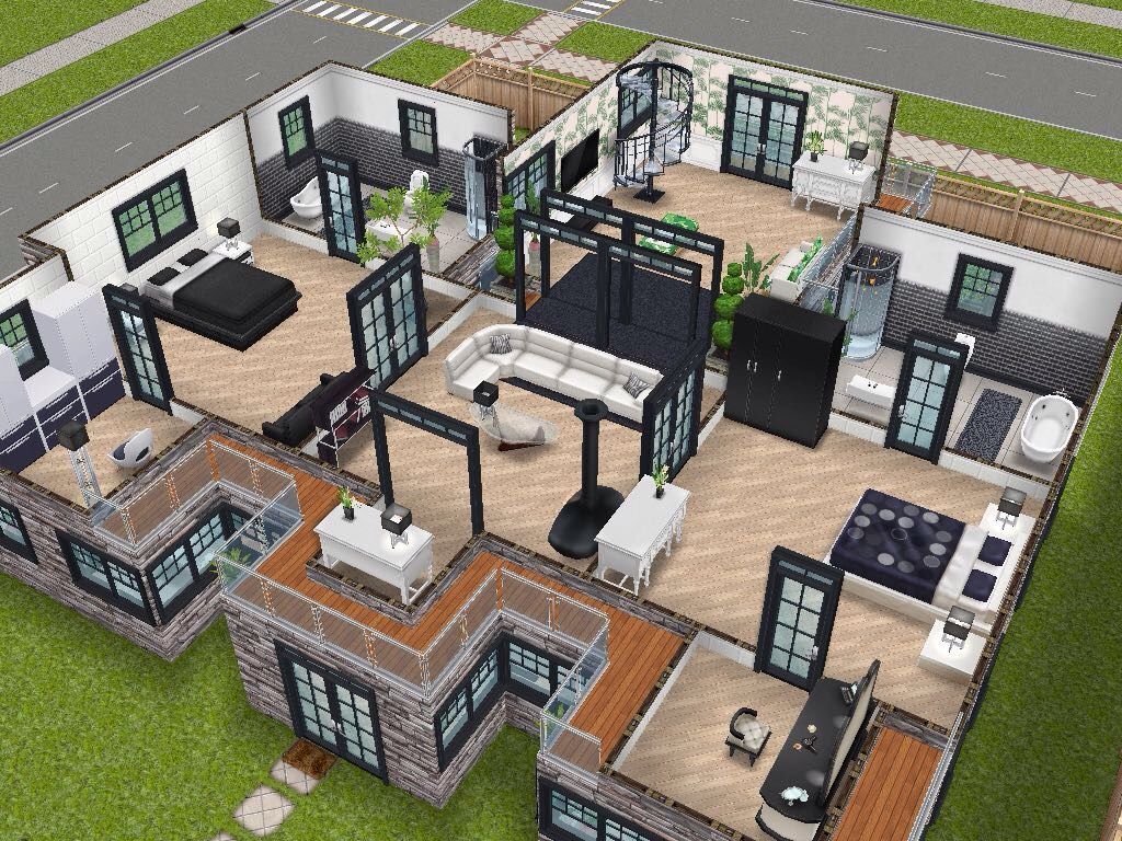 House 75 Remodelled Player Designed House Level 2 #sims