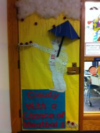 Door decoration I created for read across America. Love 3D ...