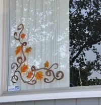 Christmas Window Painting Ideas | We decided to do ...