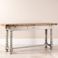 Distressed wood Sofa Table | Shabby Chic Sofa Table ...