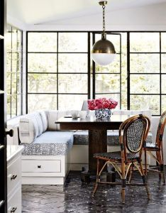 Breakfast nook inspiration house of harper also weekends at home design elements kitchens and rh pinterest