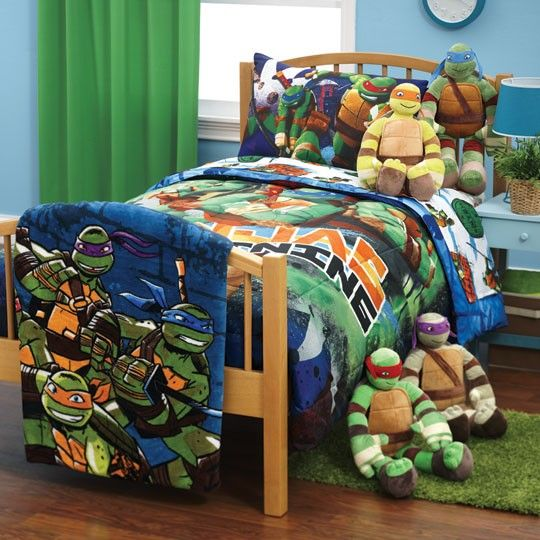 teenage mutant ninja turtles glow bedding collection $0.00 | kid's