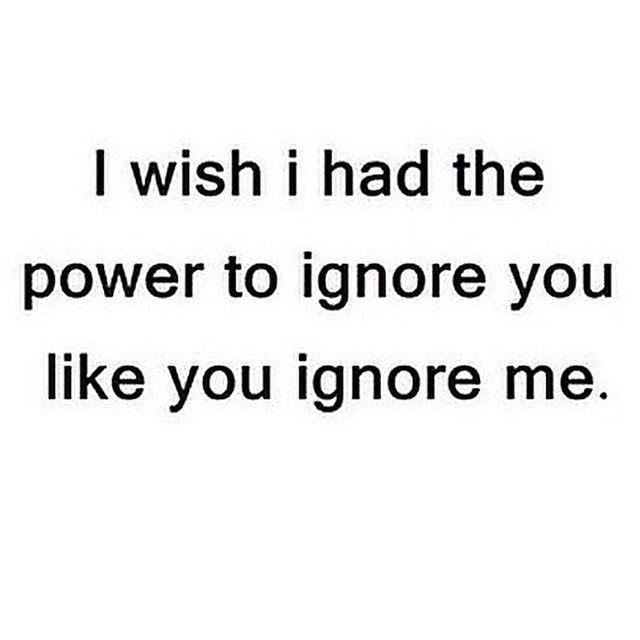 ignore you love quotes quotes quote sad heart broken