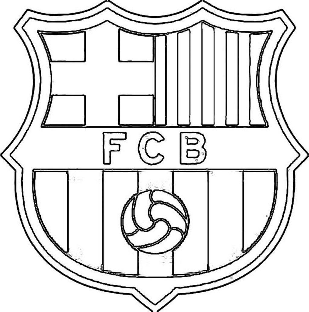 Coloriage Maillot De Foot Barcelone.Unique Coloriage Fc Barcelone Imprimer Imprimer Et Obtenir Une