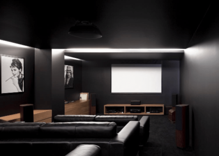 examples of dark interior design that proves black is sometimes best also