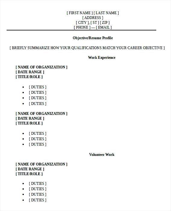 High School Graduate Resume Format PDF Pinteres