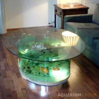 custom made coffee table fish tank | aquarium