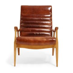 Caramel Colored Leather Sofas Cane In Chennai The Hans Chair Beautifully Blends