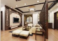 Living Room:Traditional Modern Chinese Interior Living ...