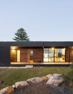Avalon  modern prefab beach house with green roof by archiblox also rh pinterest