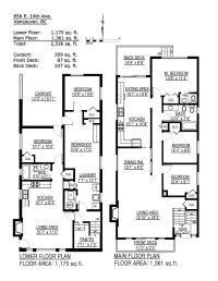 856 E 14TH Avenue, Vancouver Special | Floor Plans & House ...