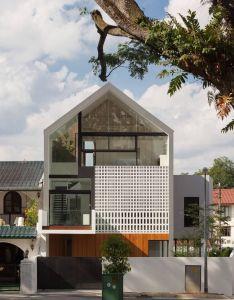 Through house by materium also fachadas modernas pinterest rh