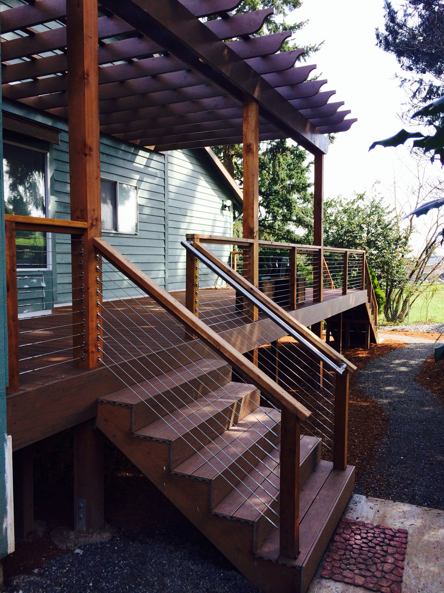 Deck Railing Without Posts