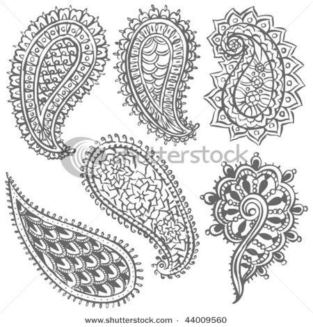 paisley variety (Assortion of paisleys; inspiration to