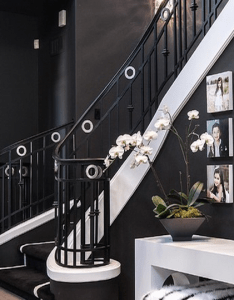 Sjc dramatic remodel contemporary staircase orange county by coast interior design also pin mahnoor nadeem on designes and home decorations rh pinterest