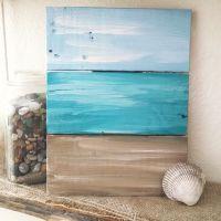 Rustic nautical pallet board art, ocean signs, nautical ...