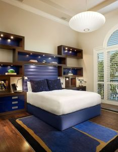 Boys bedroom design idea with blue accents lasher contracting lashercontracting also www rh pinterest
