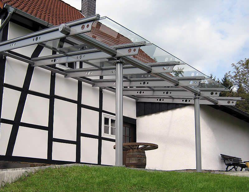 Überdachungen Mit Glas Wie Terrassenüberdachungen Minden Carports
