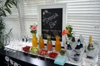 Bridal Shower Mimosa Bar | Bridal Shower | Pinterest ...