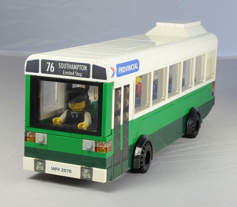 Lego leyland national bus front lego legos and lego city