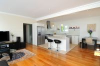 Kitchen Open Plan Living Combined Small Apartment Kitchen ...