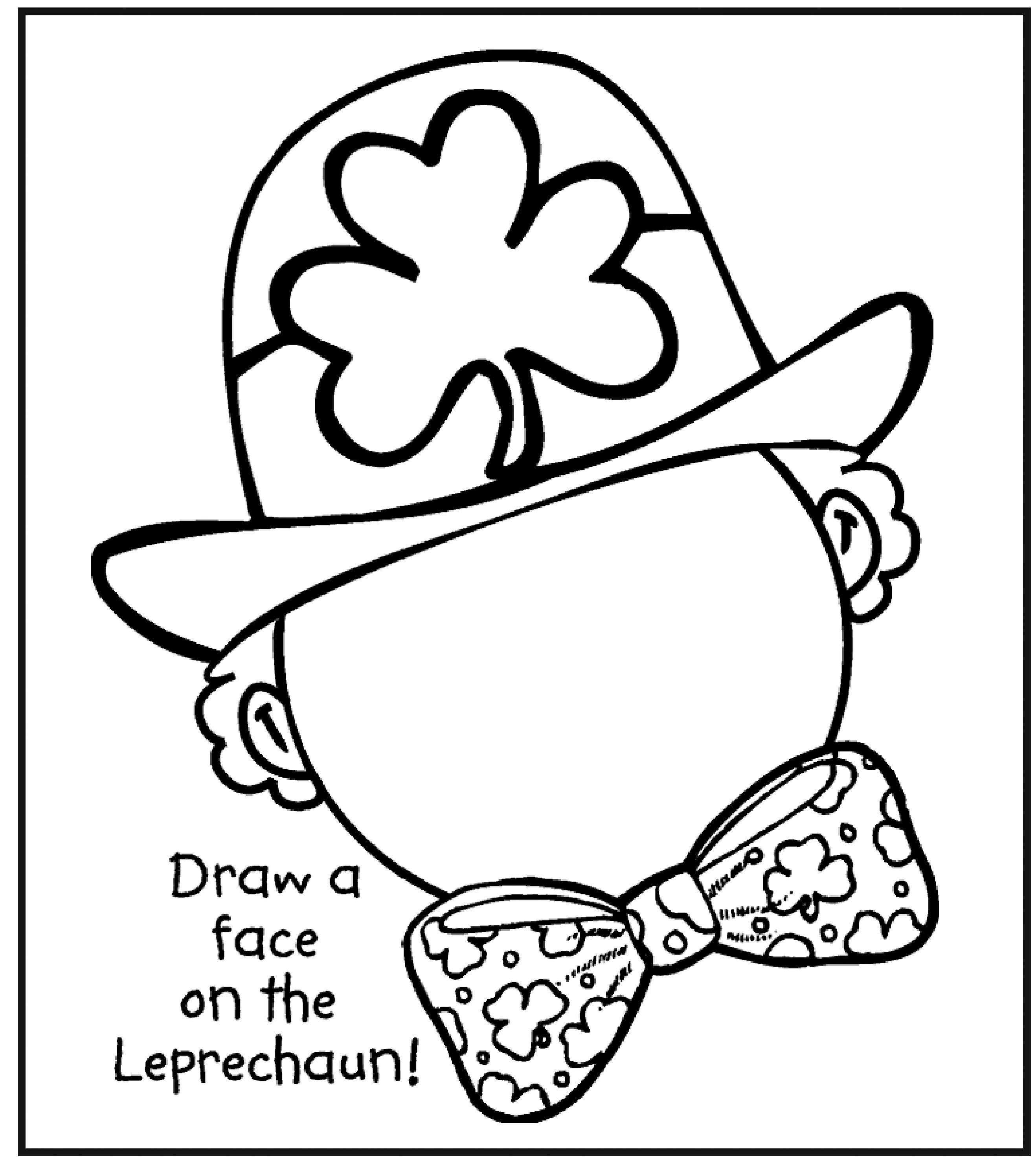 St Patrick S Day Coloring Pages Free