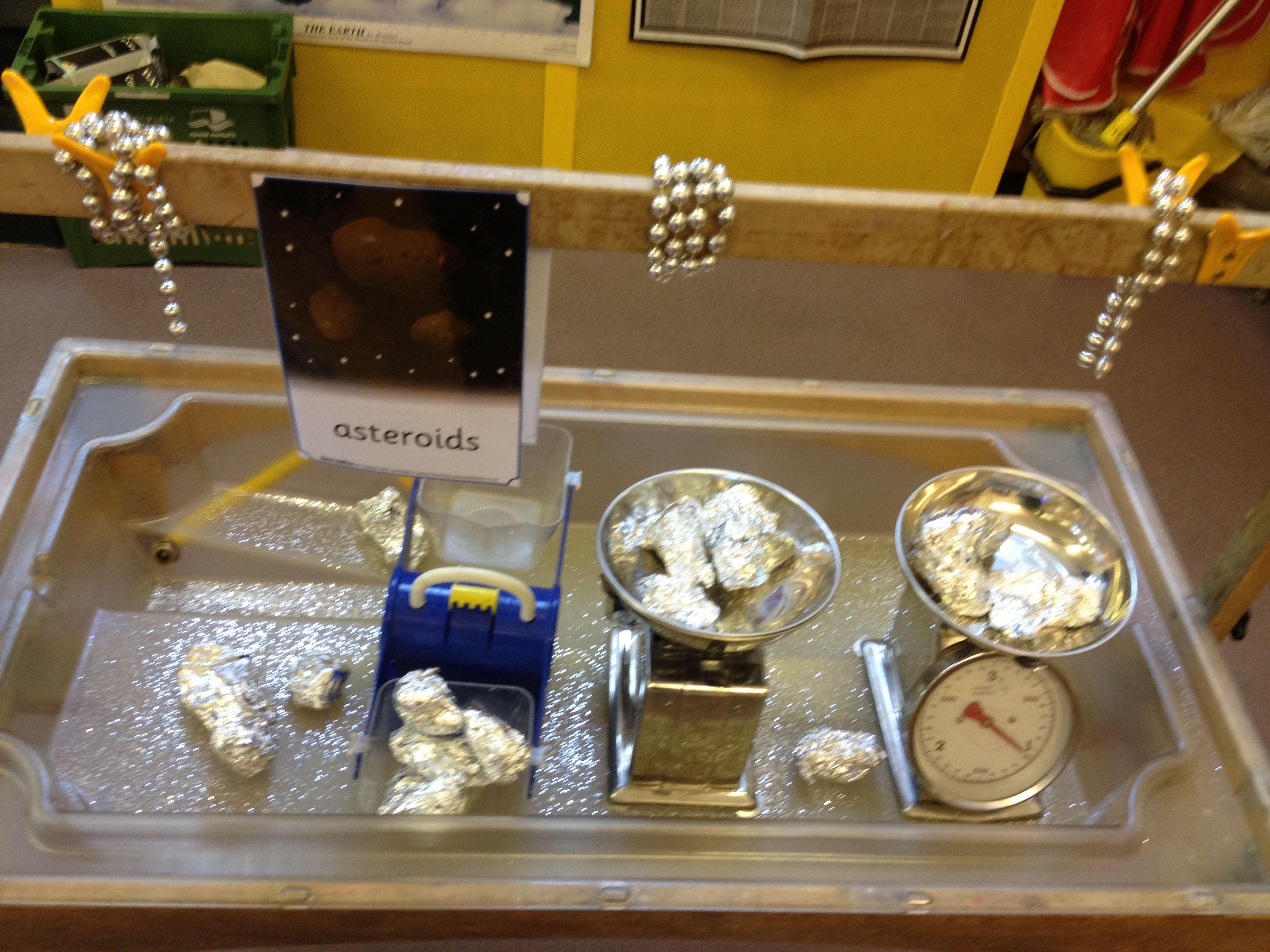 Weighing Moon Rocks