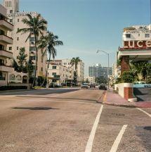 "1964. ""collins Avenue Miami Beach."" With Ocean Spray"